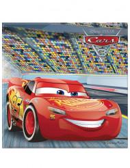 20 Serviettes en papier Flash McQueen Cars 3™ 33 x 33 cm
