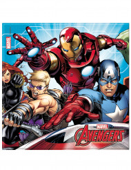20 Serviettes en papier Avengers Mighty™ 33 x 33 cm