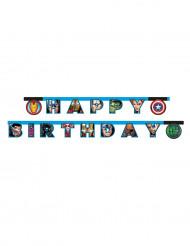 Guirlande Happy birthday Avengers Mighty™ 2 mètres
