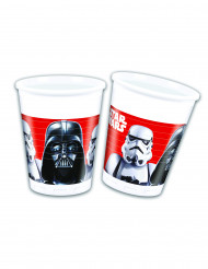 8 Gobelets en plastique Star Wars Final Battle™ 200 ml