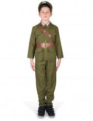 Déguisement officier militaire garçon