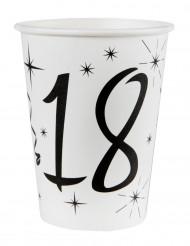 10 Gobelets en carton âge 18 ans