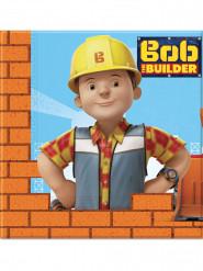 20 Serviettes en papier 33x33cm Bob the builder ™