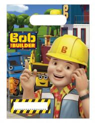 6 Sacs cadeaux Bob le bricoleur ™ 16 x 23 cm