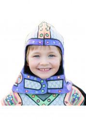 Casque lavable et à colorier chevalier enfant