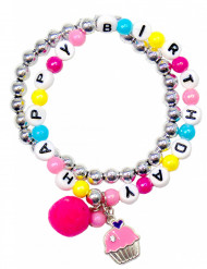 Bracelet Happy Birthday fille