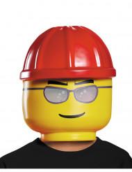 Masque ouvrier de chantier LEGO® enfants