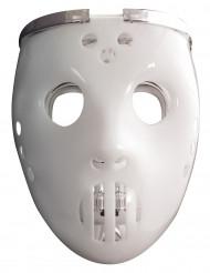 Masque 2 en  1 lumimeux joueur de hockey adulte