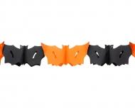 Guirlande chauve-souris Halloween 3 mètres