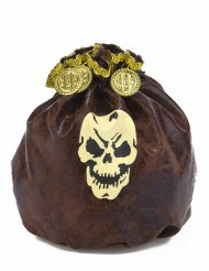 Bourse pirate adulte 23 cm