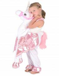 Déguisement à dos de licorne enfant