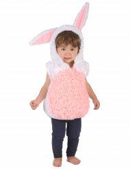 Déguisement lapin blanc et rose enfant