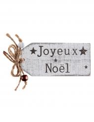 Marque-place Joyeux Noël 4 x 8,5 cm