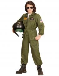 Déguisement pilote de combat garçon
