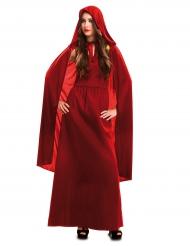 Déguisement sorcière rouge femme