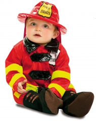 Déguisement soldat du feu bébé