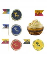 Lot de 100 décorations pour cupcakes - Harry Potter™