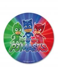 Disque azyme Pyjamasques™ multicolore 20 cm