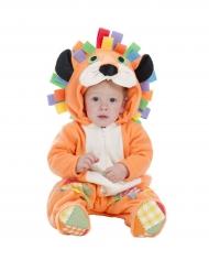 Déguisement lion orange bébé