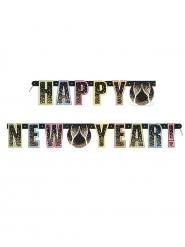 Guirlande Happy new year confettis 1,52 m