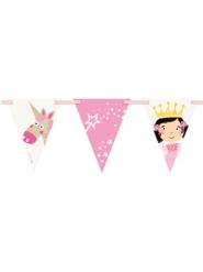 Guirlande fanions princesse et licorne 274 cm