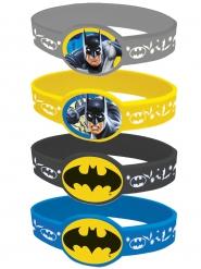 4 Bracelets élastiques Batman ™