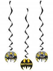 3 Décorations spirale à suspendre Batman ™