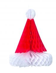 Bonnet de Noël papier 30 cm