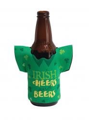 Décoration bouteille de bière St Patrick