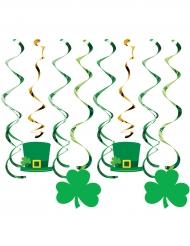 8 Décorations à suspendre St Patrick