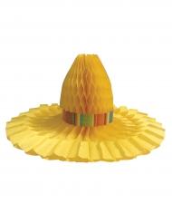 Centre de table chapeau de paille