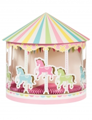 Centre de table en carton Carrousel 30.5 x 30.5 cm