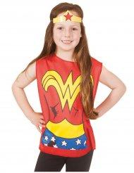 T-shirt imprimé et tiare Wonder Woman™ enfant