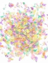 Mini sachet confettis papier ignifugé pastel 20 gr