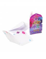 8 Invitations et enveloppes Shimmer & Shine ™