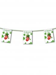 Guirlande papier ignifugé Happy Saint-Patrick 4,5 m