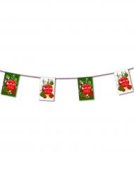 Guirlande papier Boules de Noël 4,5 m