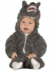 Déguisement loup gris bébé