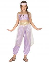 Déguisement princesse du désert violet fille