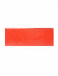 Plateau pour gâteau rectangulaire rouge 32 x 12 x 1,2 cm