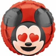 Ballon aluminium  Mickey Mouse ™ Emoji ™ 43 cm