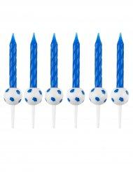 12 Bougies d'anniversaire Football