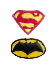 2 Figurines en gélatine Justice League ™