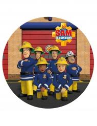 Disque azyme Sam le Pompier™ aléatoire 20 cm