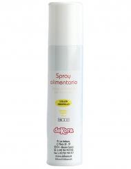 Spray alimentaire jaune effet aérographe 100 ml