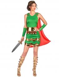 Déguisement soldat romain femme