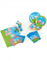 Kit d'anniversaire Peppa Pig™ 25 pièces