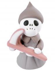 Figurine en sucre Petite Faucheuse 3,5 x 5,8 cm