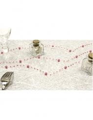 Guirlande de perles rose 2,5 m