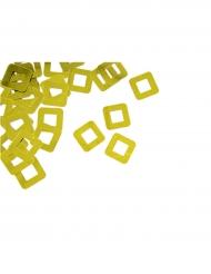 Confettis de table carré ajouré doré 10 g